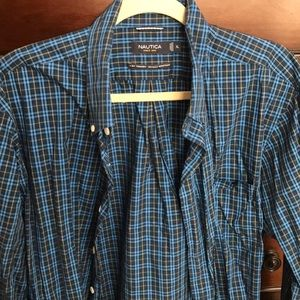This is a pre-loved men's shirt